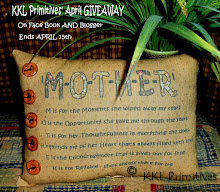 KKL PRIMITIVES' APRIL GIVEAWAY