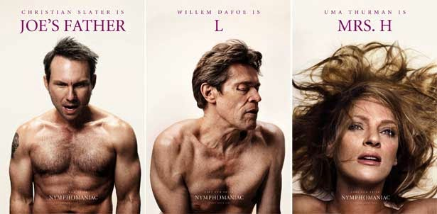 Actors/Actresses do orgasm face in Movie Posters