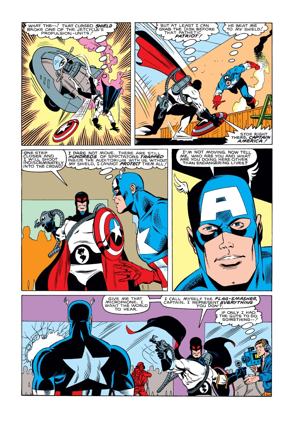 Captain America (1968) Issue #312 #240 - English 17