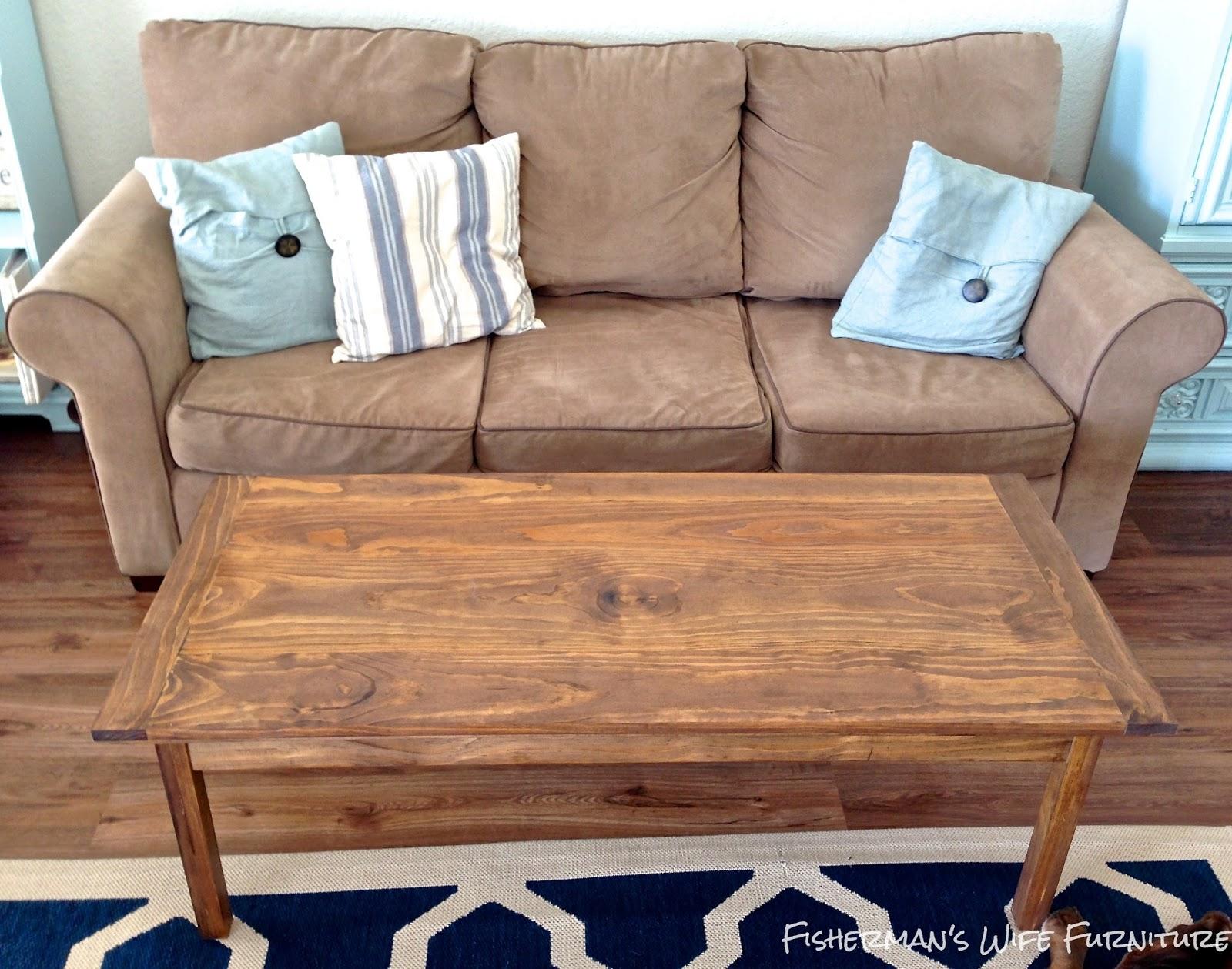 Fisherman s Wife Furniture DIY Coffee Table