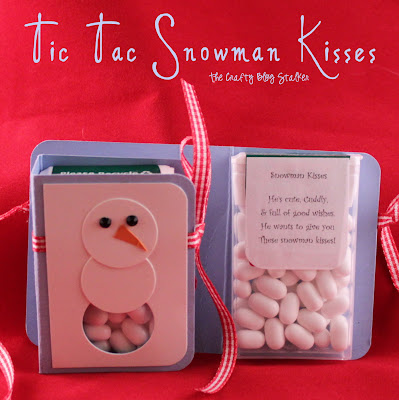 Tic Tac Snowman Kisses