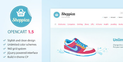 Shoppica Premium Theme v1.0.11 for OpenCart 1.5.1.x - ThemeForest