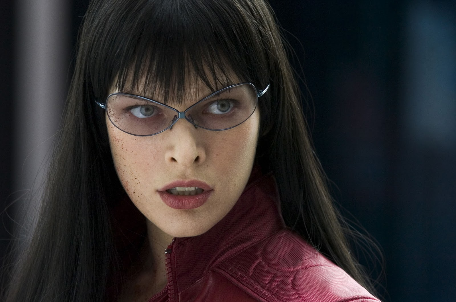 celebrities movies and games milla jovovich as violet