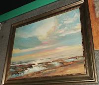 """Glezna """"Jūra"""", eļļa, audekls, 30x40, Cena 205 Ls"""