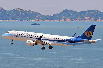 mandarin airlines embraer e190