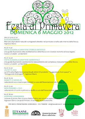 Festa primavera Rocca Brivio