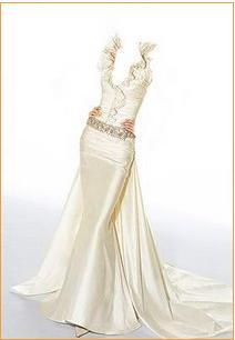 خياطة وتفصيل فستان سهره طويل تفصيل وخياطة باترون فستان سهرة2017