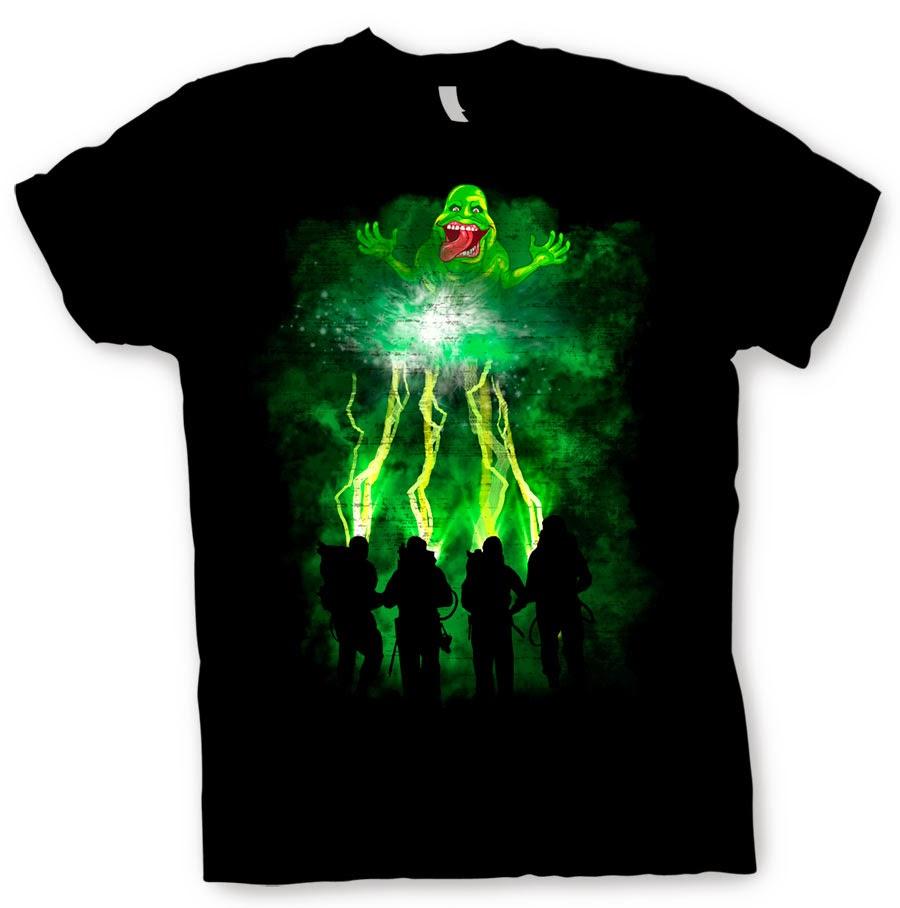 Camiseta Rayos Los Cazafantasmas