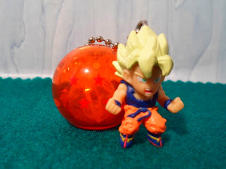 Gashapon Dragon Ball Kai Capsule Collection Goku SSJ3