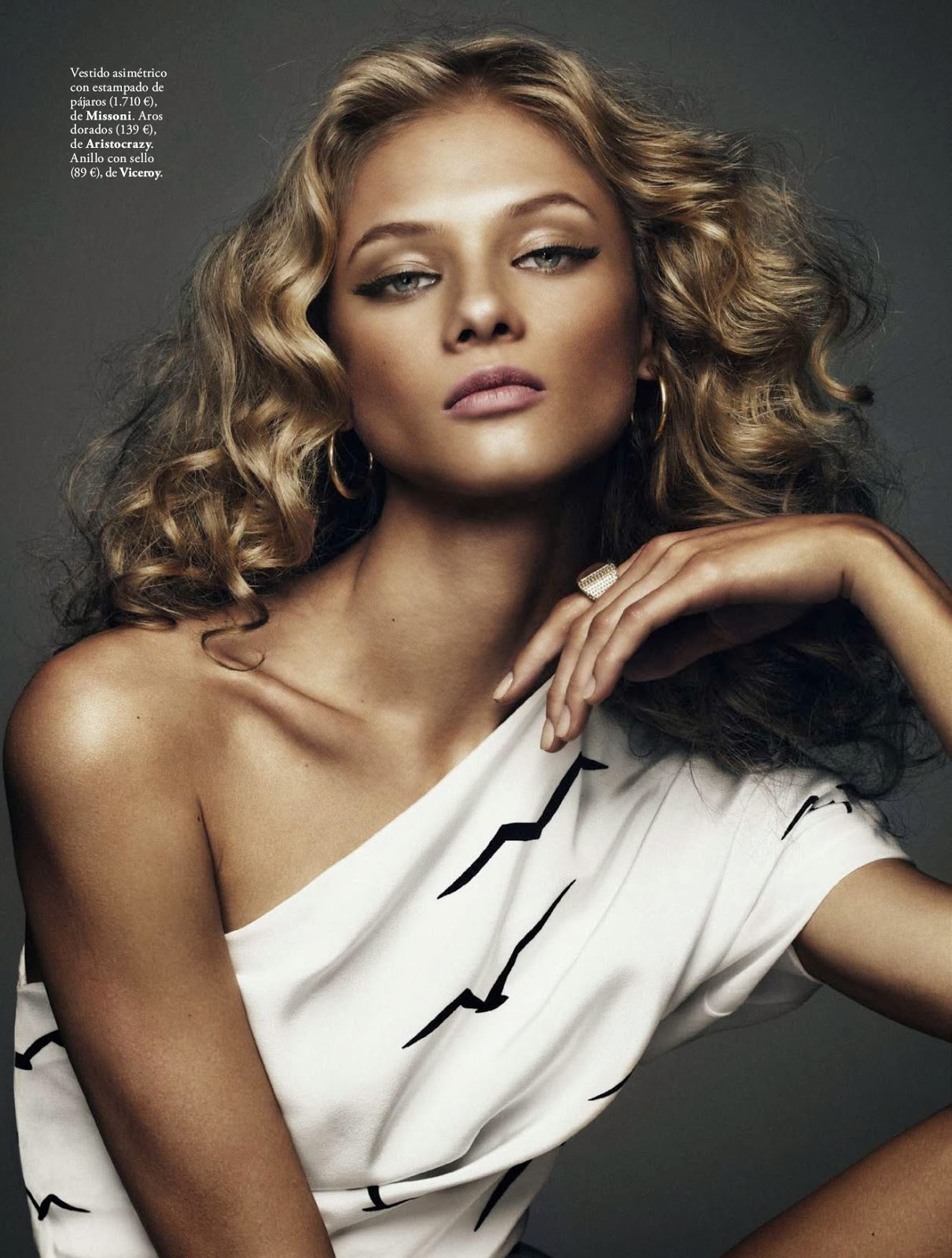Magazine Scans, Latest wallpapers Anna Selezneva & Elle Magazine Spain