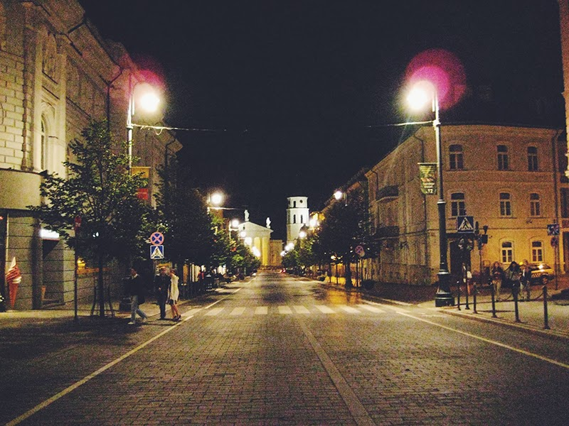 Ночной Вильнюс