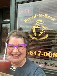 2019, Bread -N- Brew, Raspberry Iced Tea, Wellington OH
