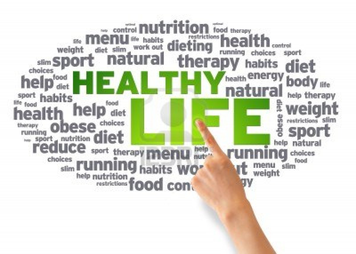 living healthy Living healthy doesn't necessarily mean you have to become a marathon runner the biggest part of living healthy comes down to simply making healthy choices and don't start thinking that being healthy means missing out on all the good stuff.
