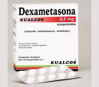 dexametasona en pastillas