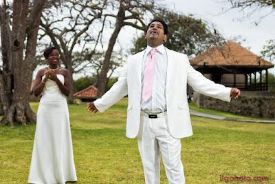 mariage en Guadeloupe, fort fleur d'épée, le Gosier