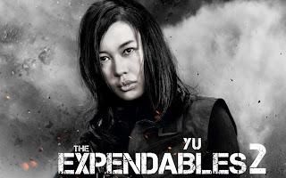 Atriz do filme os mercenarios 2 Yu nan Fiona