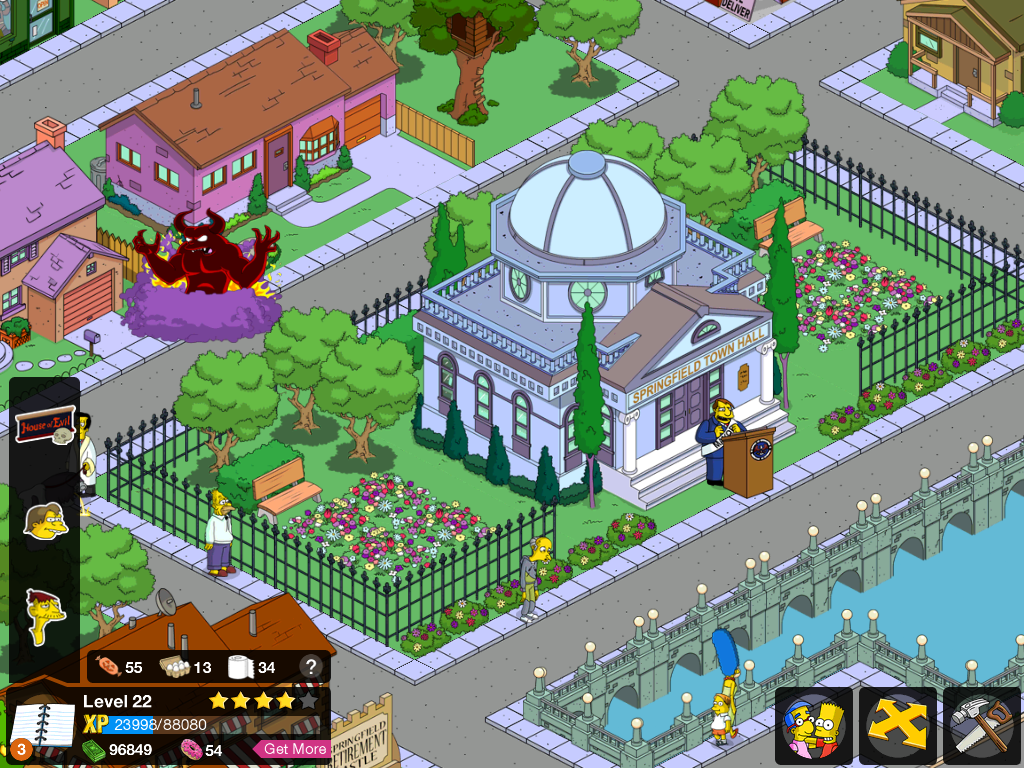 Simpsons Tapped Out Springfield Downs Cheat  Apps Directories