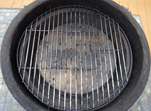 kamado grill indirect set up