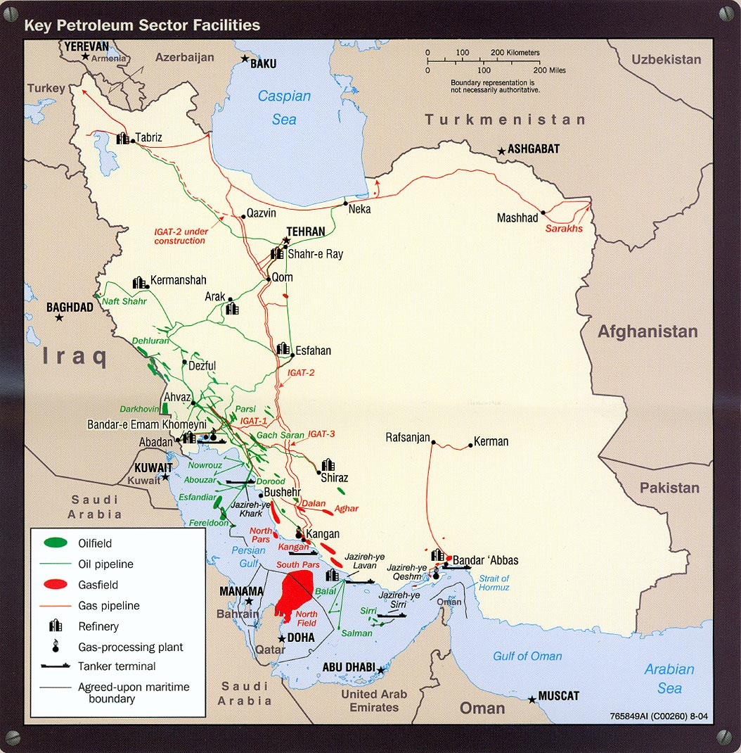 new oil field discovered in iran