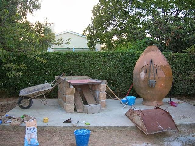 Construir tu propio horno de barro casero todos los pasos - Como hacer horno de lena paso a paso ...