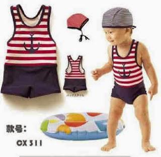 Model Baju Renang Bayi Terbaru
