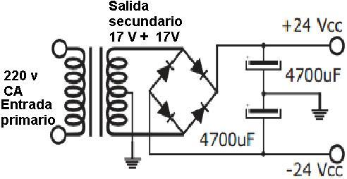 Amplificador De 35 W Con El Tda2050