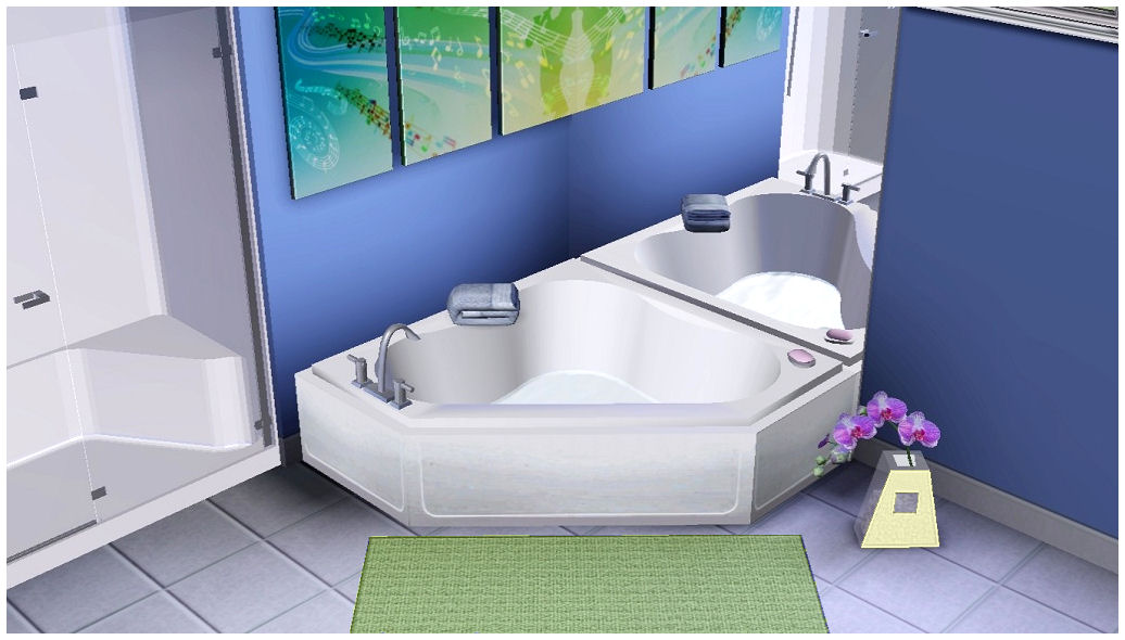 Sims  Spa Day Sink