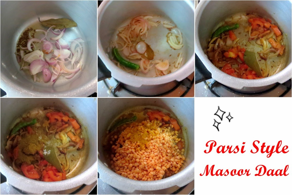 how to make masoor dal powder