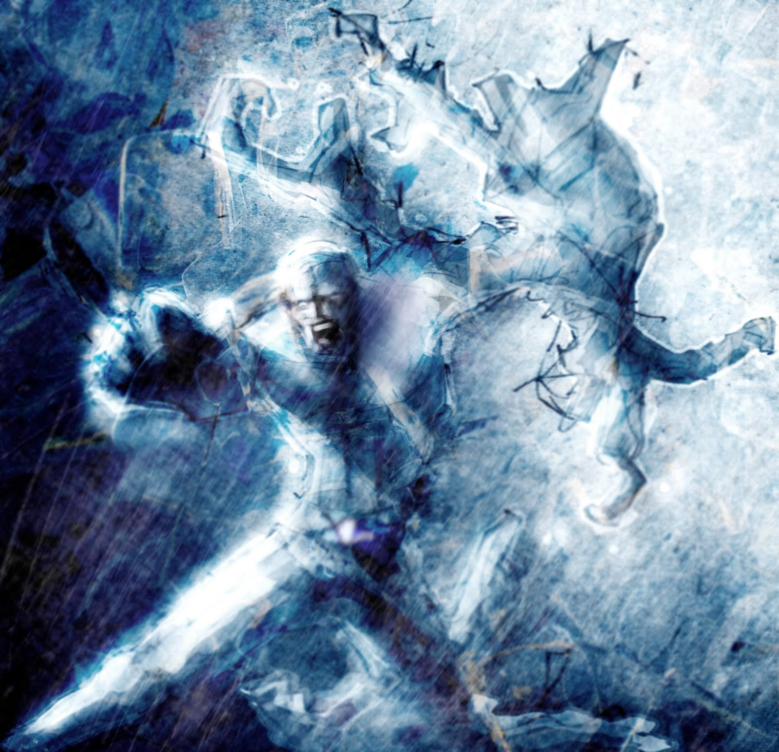 DrawLAAHHH: X Men: Iceman Unleashed concept art