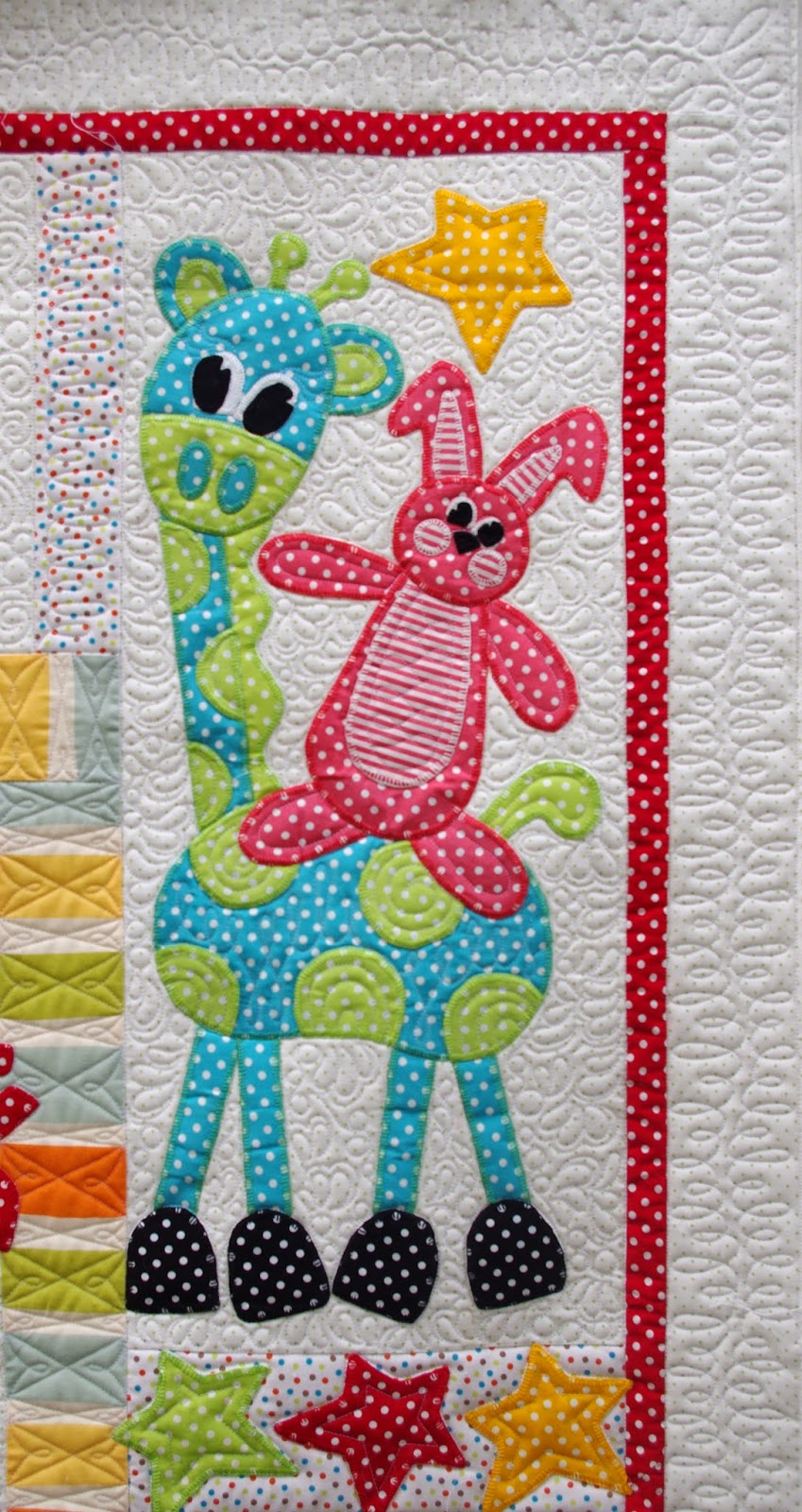 Quilts On Bastings Toy Time Circus A Baby Applique Quilt