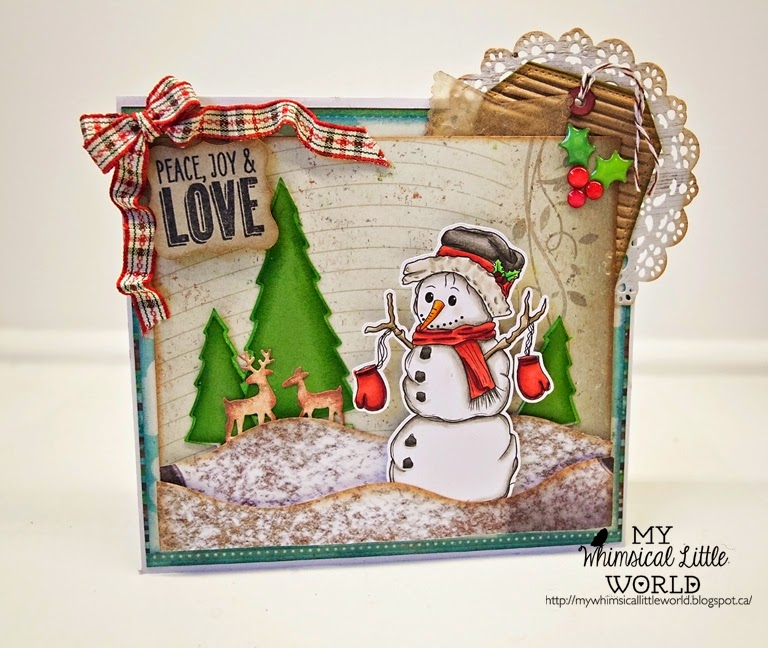 my whimsical little world, stamp, digi stamp, christmas stamp, christmas, digital stamp, cardmaking