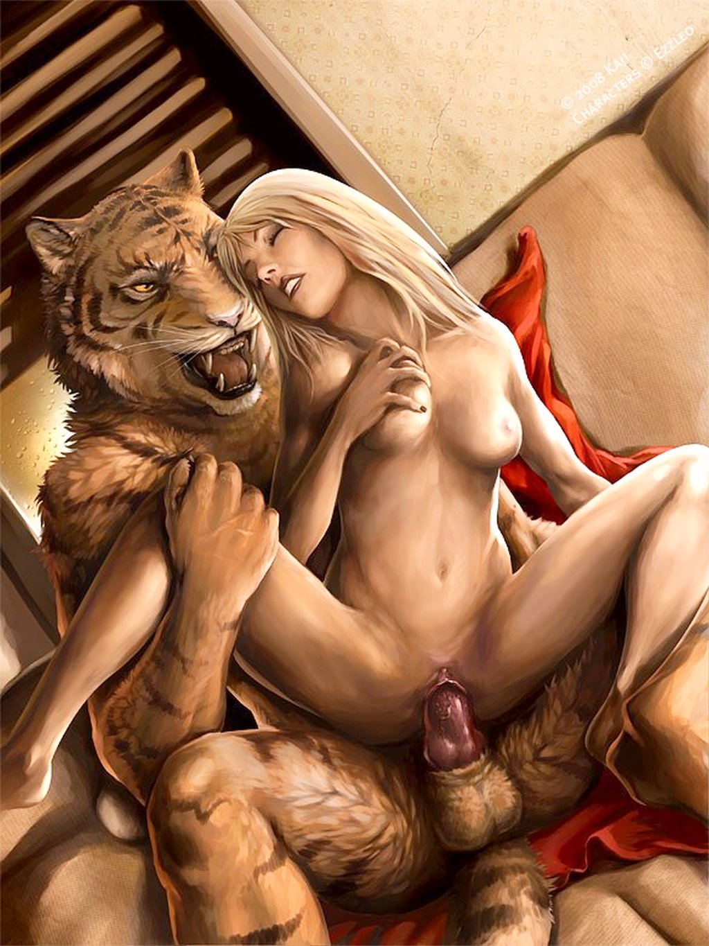 Male tiger fucks female human porn nude photos