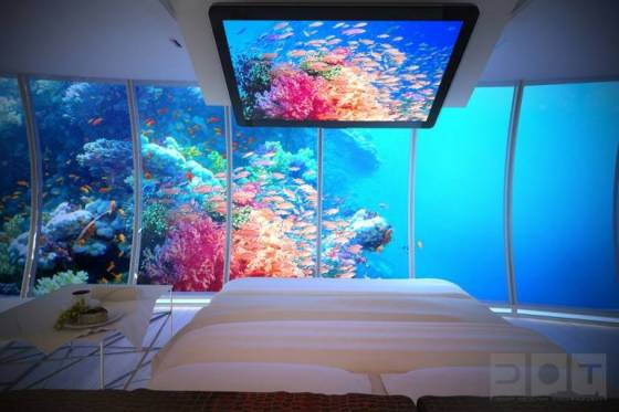Dubai de ilginç otel projesi sualtı oteli
