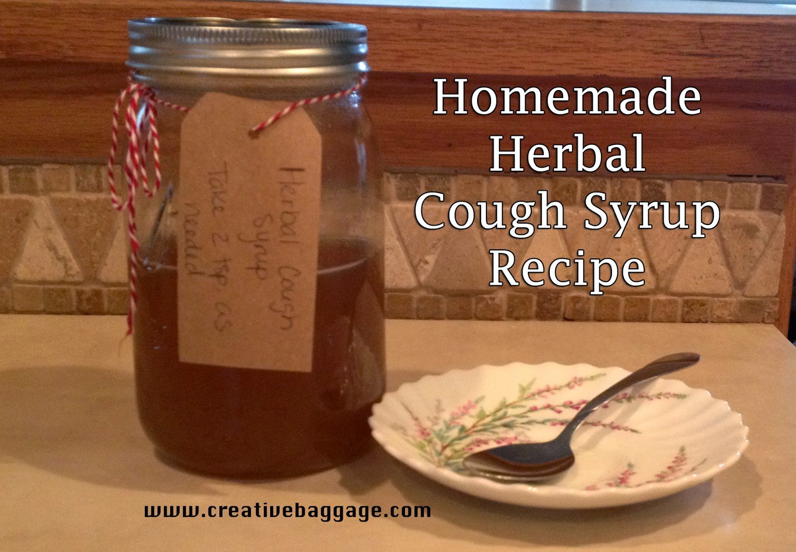 Homemade Herbal Cough Syrup Recipe