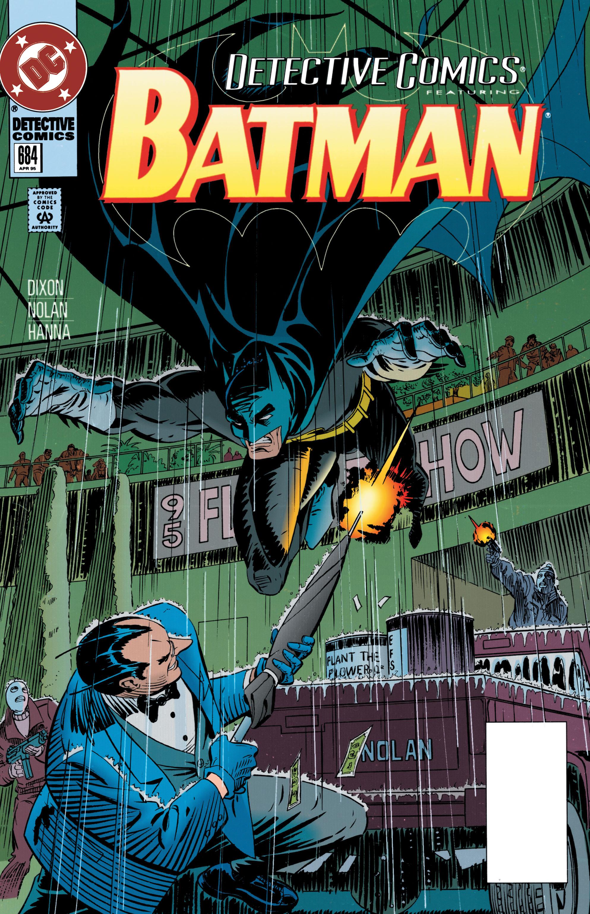 Detective Comics (1937) 684 Page 1