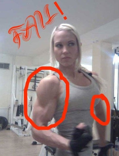 Girl Musculation Fail