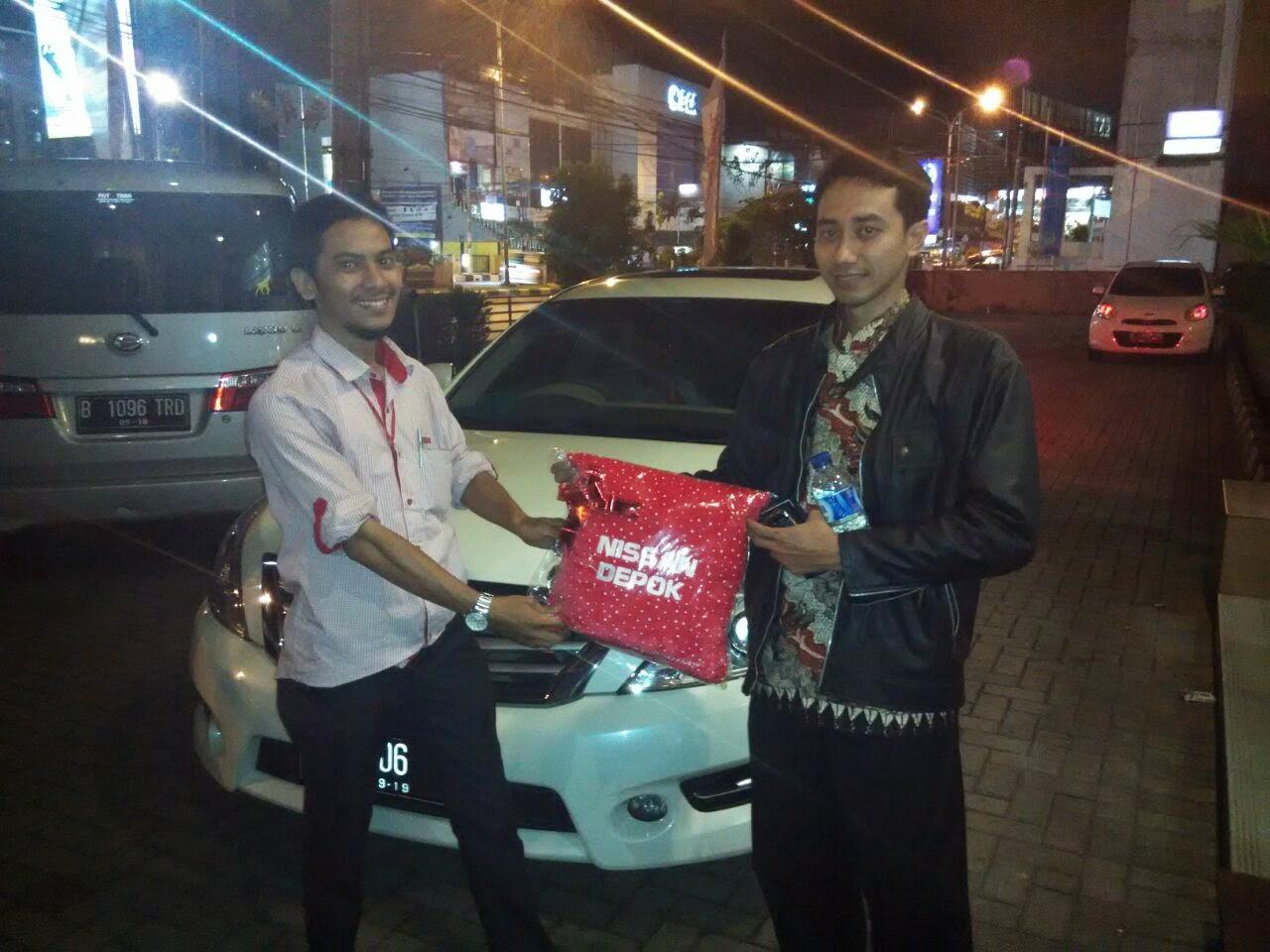 Terimakasih atas kepercayaan Pak Yudho yang telah membeli New Nissan Teana melalui media www.touchnissan.com.  Semoga Berkah ya Pak ...