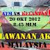 Rumusan Perlawanan Final Piala Malaysia 2012 Antara Kelantan Vs ATM : Sangat Menyakitkan Hati!