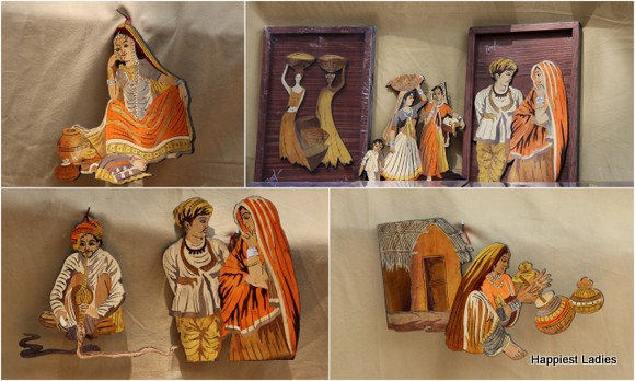 beautiful indian inlay wooden handicraft