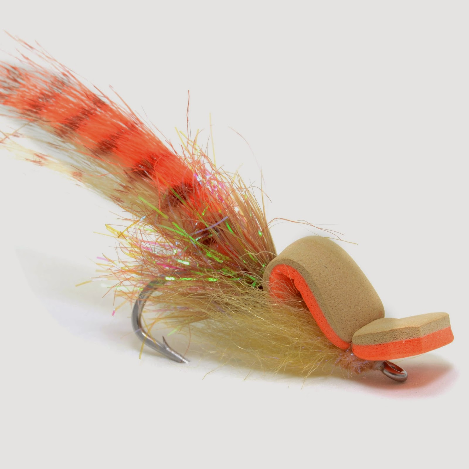 Saltwater gurgler fly fish food fly tying and fly fishing for Saltwater fly fishing
