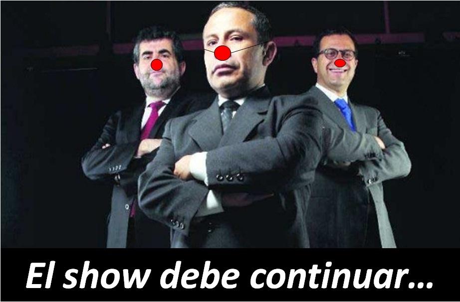 Rojoscuro el show debe continuar for El espectaculo debe continuar