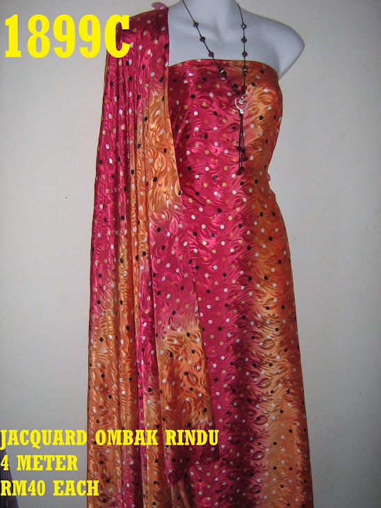 JOR 1899C: JACQUARD OMBAK RINDU, 4 METER