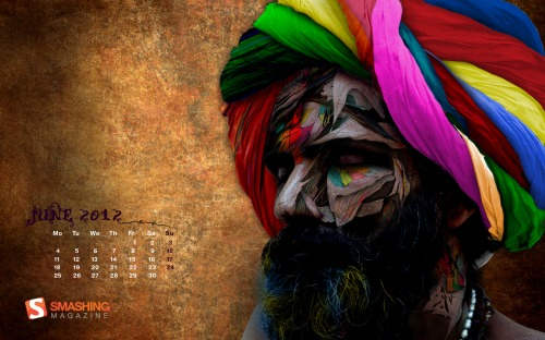 June Chromatic Baba Desktop