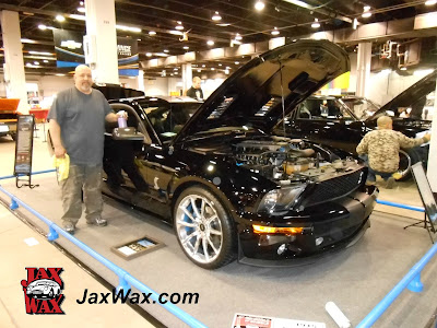 2009 Mustang Jax Wax Chicago World of Wheels