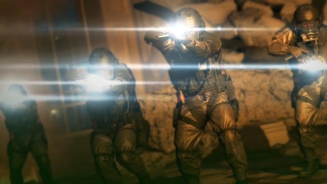Metal Gear Solid V: The Phantom Pain xof lens flare