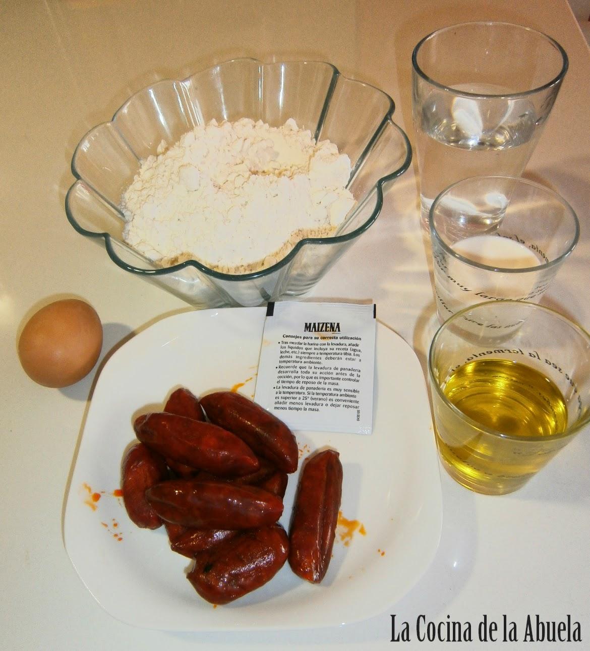 Bollos de Chorizo.