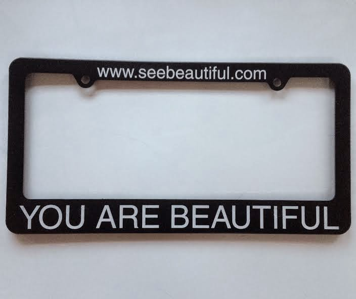 http://www.seebeautiful.com/see-beautiful-license-plate-frame.html