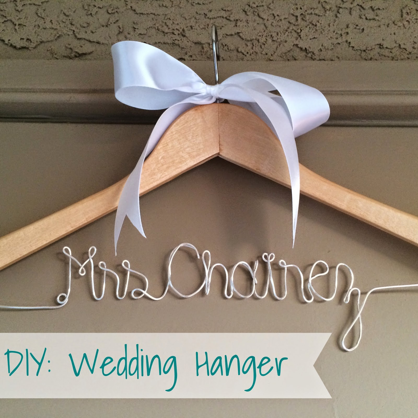 Diy Wedding Hanger
