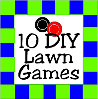 10 DIY Lawn Games by Kims Kandy Kreations