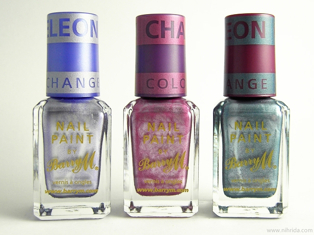 Barry M Chameleon Colour Changing Nail Effects